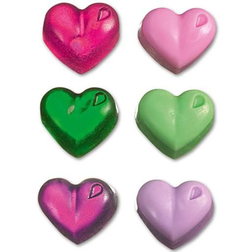 rosa/grön/violett