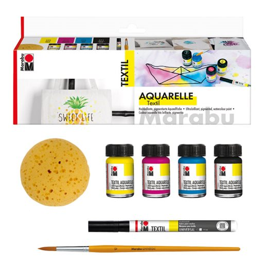 Textil Aquarelle set