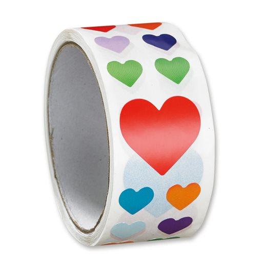 Stickers hjärtan