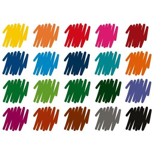 Fiberspetspenna Triplus Color