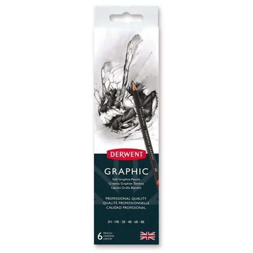 Derwent Graphic grafitpennor
