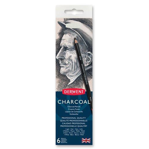 Derwent Charcoal kolpennor