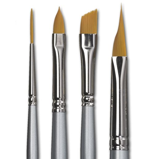 Silverline-pensel 4-pack