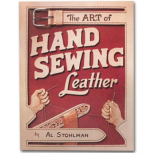 Hand sewing leather