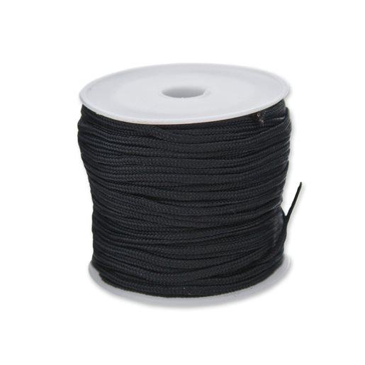 Polyestertråd, svart