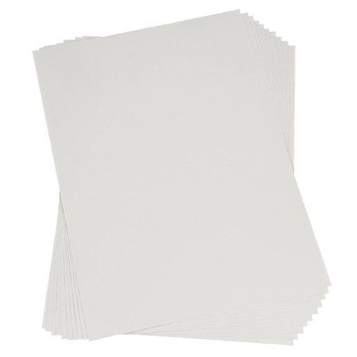 Kortkartong, vit
