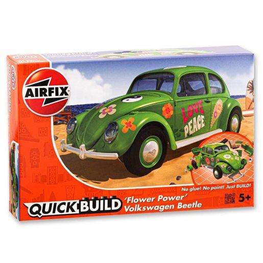 Quick build VW Beetle flower-power