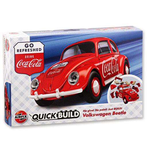 Quick build VW Beetle Coca-Cola