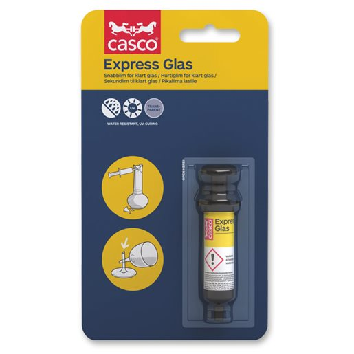 Casco Express Glas