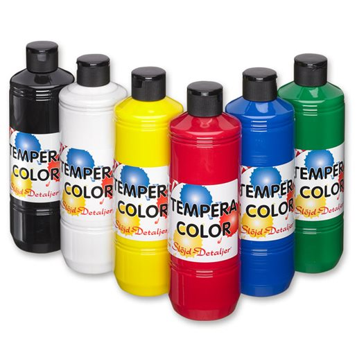 Tempera Color set