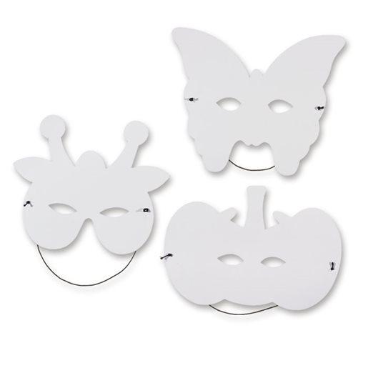 Ansiktsmasker exotiska djur