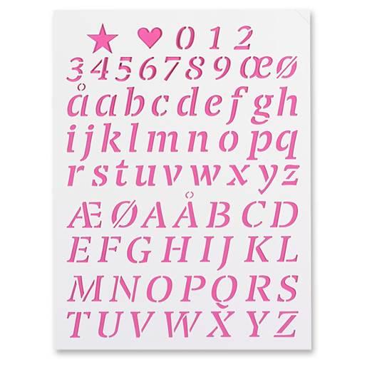 alfabet & siffror
