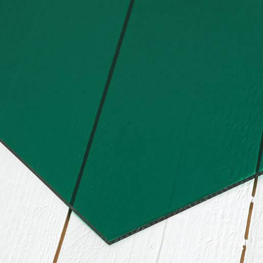 transparant grön