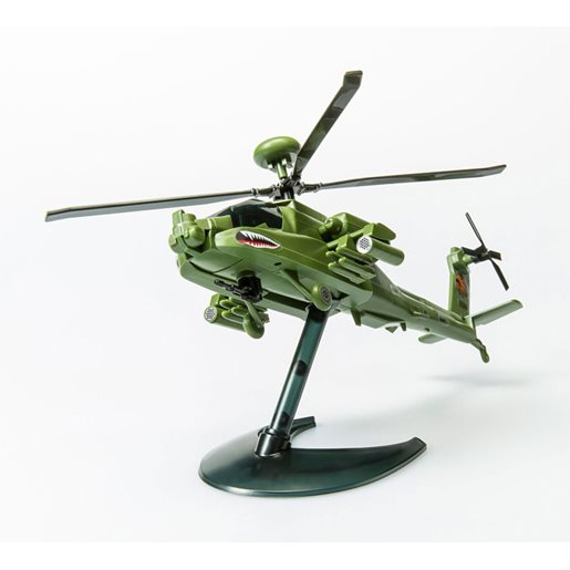 Airfix Quick Build modell Apache Helicopter